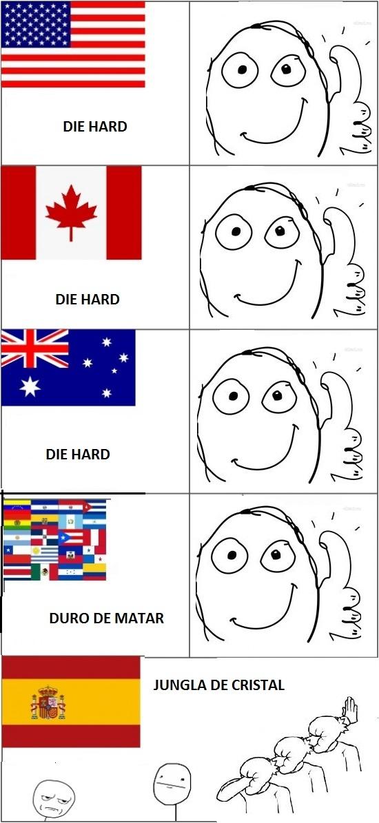Memes de traducciones españolas jungla de cristal