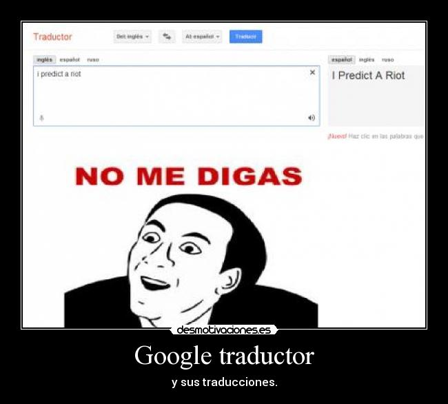 Memes de traductor de google