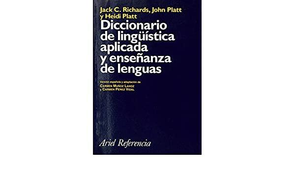 Analizamos el Diccionario de lingüística aplicada y enseñanza de lenguas