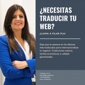 traducir web Pilar Pla
