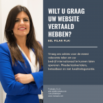 website vertaald